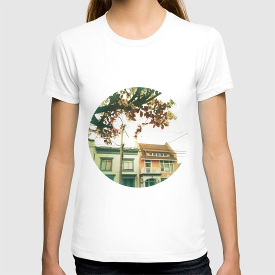 Inner Sunset Flower Trees T-shirt