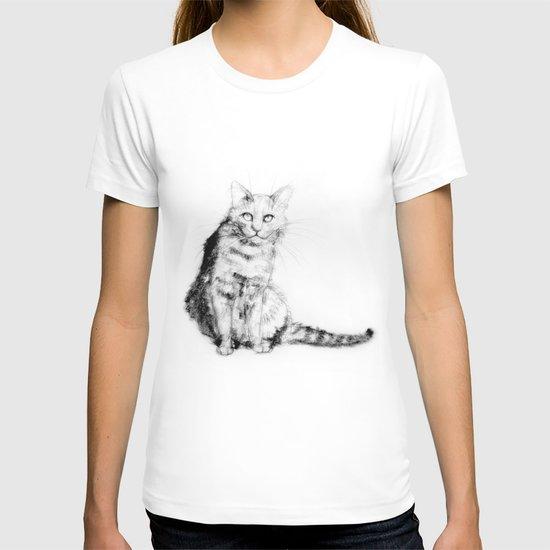 ちょっとしぶい猫 T-shirt