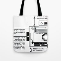 Polaroid Land Camera  Tote Bag