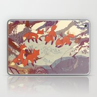 Laptop & iPad Skin featuring Fisher Fox by Teagan White