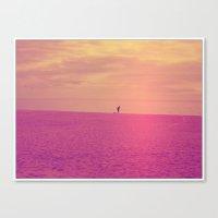 Porto Beach Canvas Print