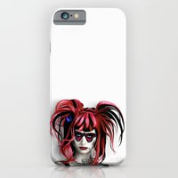 iPhone & iPod Case featuring A Real Butterfly Girl by Andrew Treherne