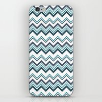 Zagged Chevron iPhone & iPod Skin