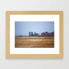Saskatoon Framed Art Print