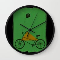 confidant II. (bicycle) Wall Clock