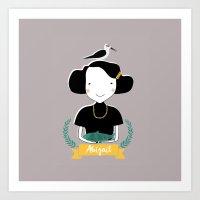 Abigail Art Print