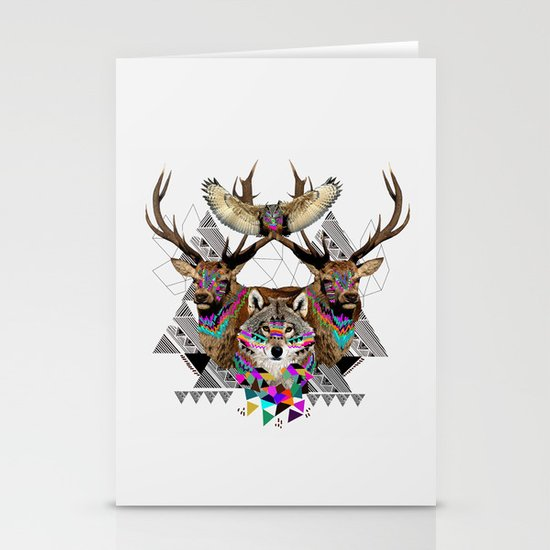 ▲FOREST FRIENDS▲ Stationery Card