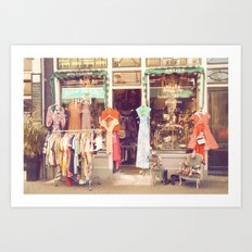 Vintage Shop Art Print