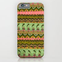 Pink and Green Pattern iPhone 6 Slim Case