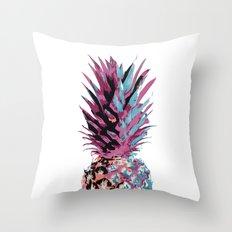 Pop Pineapple Throw Pillow
