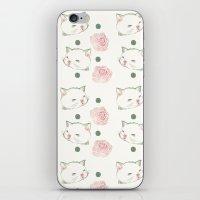 Cat's Waltz 고양이 �… iPhone & iPod Skin
