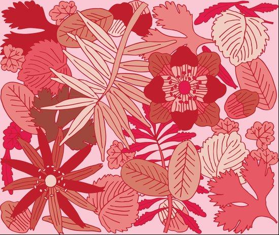 Botanic in Rose Art Print