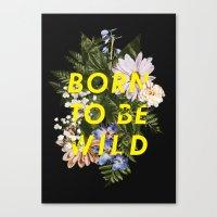 Born To Be Wild I Canvas Print
