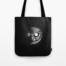 Moon Blinked Tote Bag