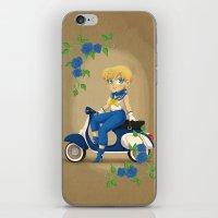 Retro Sailor Uranus iPhone & iPod Skin