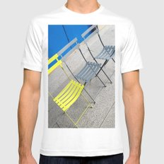 Chairs SMALL White Mens Fitted Tee