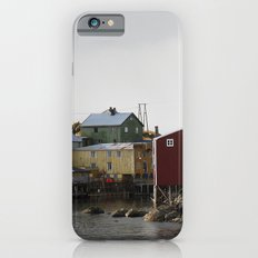 Nyksund, Lofoten iPhone 6 Slim Case