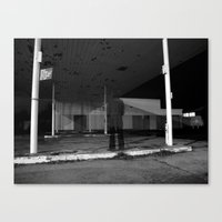 then just for a moment... I would materialise - VACANCY zine Canvas Print