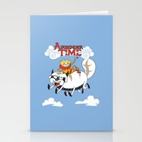 Airbender Time Stationery Cards