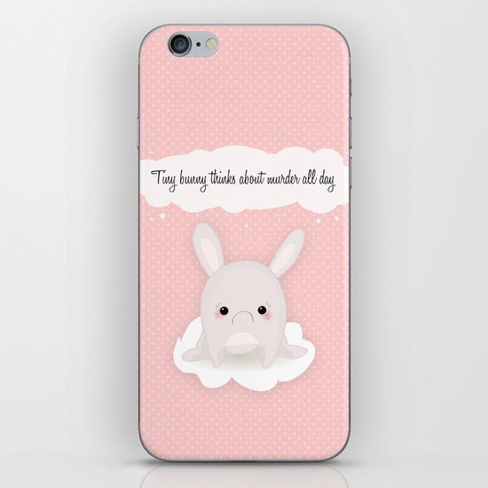 tiny bunny iPhone & iPod Skin
