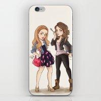 Teen Wolf Ladies iPhone & iPod Skin