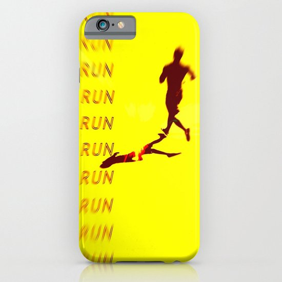 Run Run Run iPhone & iPod Case