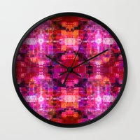 Fool For Fuschia Wall Clock