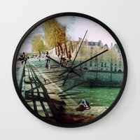 Paris In The Spring Time… Wall Clock