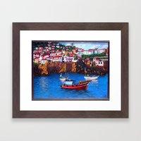 Monaco Framed Art Print
