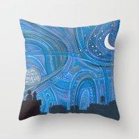 Brooklyn Sky Throw Pillow