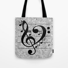 Love Music Tote Bag
