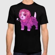 Kurt Russell Terrier - Snake Plissken Mens Fitted Tee SMALL Black