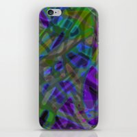Colorful Abstract Stained Glass G301 iPhone & iPod Skin