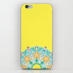Sunny Beach Mandala iPhone & iPod Skin