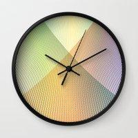 Gradient Strings Wall Clock