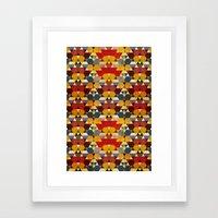 Kaleidoscopy Framed Art Print