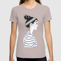 Ligeia Womens Fitted Tee Cinder SMALL