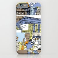iPhone & iPod Case featuring NY Stripes by giorgio fratini