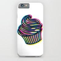 iPhone & iPod Case featuring CMYK Cupcake by Jade Boylan