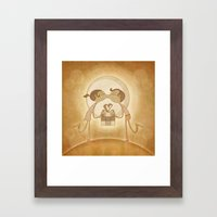 Beso2 Framed Art Print