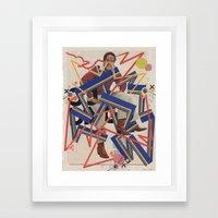 orenthal & the tigers Framed Art Print