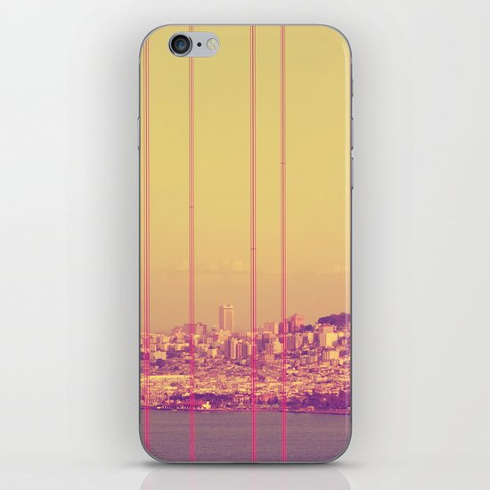 Golden Gate Into San Francisco iPhone & iPod Skin