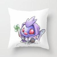 Veno-NOT Throw Pillow