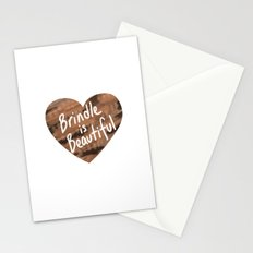 Brindle is Beautiful Stationery Cards