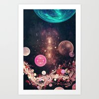 Planets - For Iphone Art Print