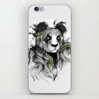 iPhone & iPod Skin featuring Panda by Lera Razvodova