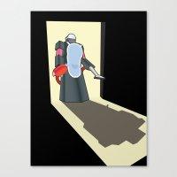 Robot Vacuum Canvas Print