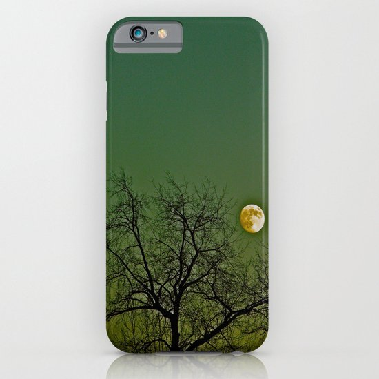 Tangled Tree Moon iPhone & iPod Case
