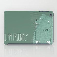 Friendly Bear iPad Case