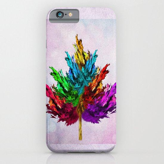 Joyful leaf iPhone & iPod Case